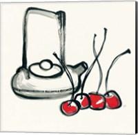 Tea and Cherries Fine Art Print