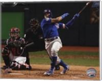 Javier Baez Home Run Game 7 of the 2016 World Series Fine Art Print