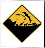 Ark Crossing Sign Fine Art Print