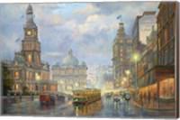 Evening Showers - Sydney Fine Art Print