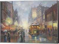 Sydney By Gaslight Fine Art Print