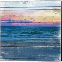 Beach Blues 2 Fine Art Print