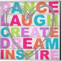 Dance Laugh Fine Art Print