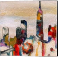 Abstract Skyline 2 Fine Art Print