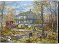 Autumn at the Schneider House Fine Art Print