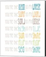 You're the Sun to my Shine Fine Art Print