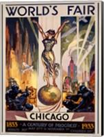 Chicago World's Fair 1933 Fine Art Print