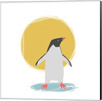 Minimalist Penguin, Boys Part II Fine Art Print