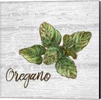 Oregano on Wood Fine Art Print