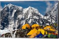 Base Camp, Mt Everest, Nepal Fine Art Print