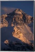 Mt Everest at Sunset From Rongbuk, Tibet Fine Art Print