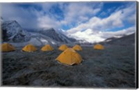 Pethang Ringmo and Mt Everest Fine Art Print