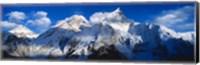 Everest & Nuptse Sagamartha National Park Nepal Fine Art Print