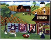 Country Quilts Jam Fine Art Print