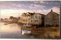 Massachusetts, Nantucket Island, Old North Wharf Fine Art Print