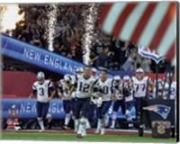 New England Patriots Team Introduction Super Bowl LI Fine Art Print