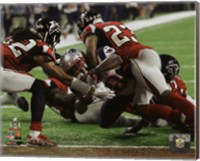 James White game winning touchdown Super Bowl LI Fine Art Print