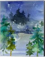Watercolor Winter Fine Art Print