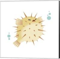 Sea Creatures - Pufferfish Fine Art Print