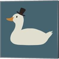 Duck Family Dad Fine Art Print