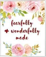 Fearfully & Wonderfully Made Fine Art Print