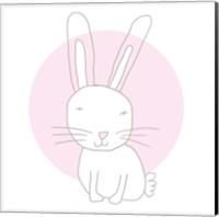 Pink Bunny Fine Art Print