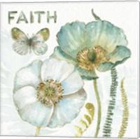 My Greenhouse Flowers Faith Fine Art Print