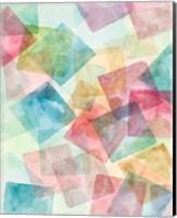 Merging Shapes I Fine Art Print