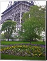 Eiffel Gardens Fine Art Print