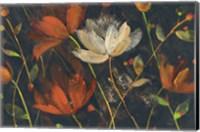 Moonlight Garden I Spice Fine Art Print