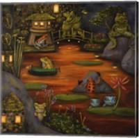 Frogland #2. Fine Art Print