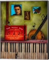 Music Box Fine Art Print