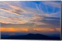 Blue Ridge Sunset Fine Art Print