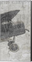 Newspaper Air Travel C Fine Art Print