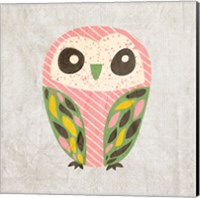 Owl Love 1 Fine Art Print