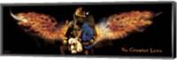 No Greater Love Fireman Rescue Fine Art Print