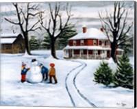Winter Fun Fine Art Print