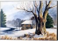 Old Grist Mill Fine Art Print