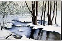 Snow Trees Fine Art Print