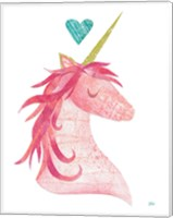 Unicorn Magic I Heart Fine Art Print
