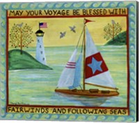 May Your Voyage Be Blessed Fine Art Print