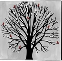 Red Birds Fine Art Print