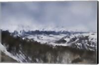 Winter Impressions In Colorado 6 Fine Art Print