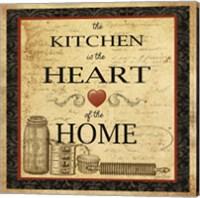 Kitchen Heart Vignette Fine Art Print