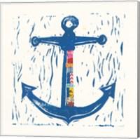 Nautical Collage III Fine Art Print