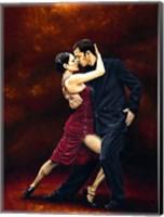 That Tango Moment Fine Art Print