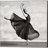 Ballerina Dancing (detail) Fine Art Print