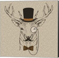 Deer-man Fine Art Print