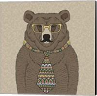 Bear-man Fine Art Print