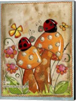 Ladybug Friends Fine Art Print